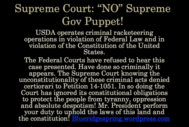 Supreme Court Sells out Constitutional Obligation to The American People!