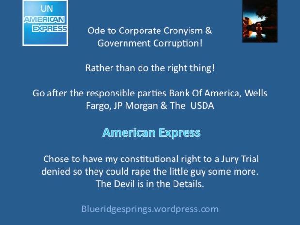 Un American Express!