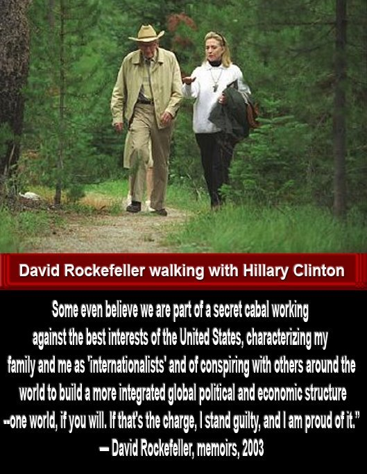 Rockfeller and Clinton One World Order