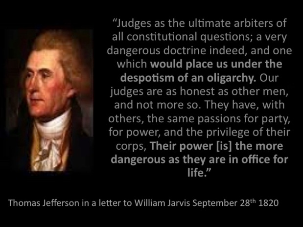 Thomas Jefferson Explains Path to Oligarchy! William Jefferson Clinton Perfects It!