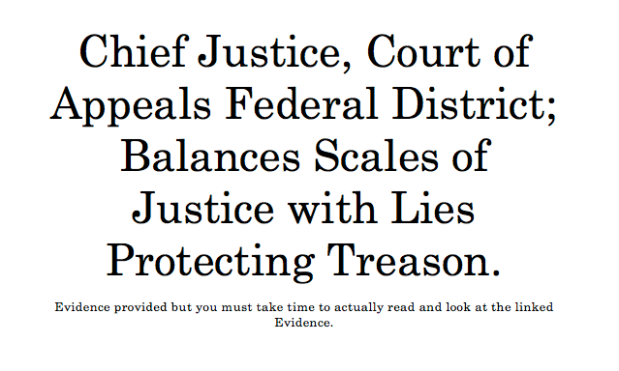 Federal Court Opinion Balances Scales of Justice With Lies!