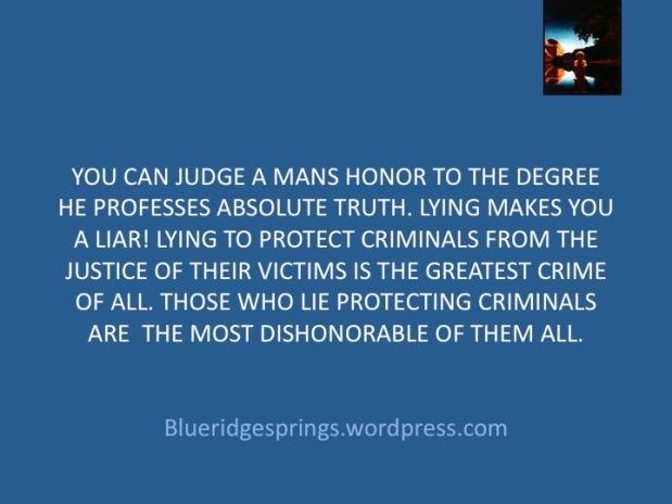 Judging the Judges of aJudge.